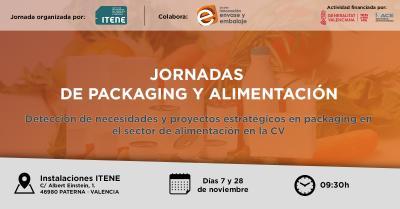 jornadas proyectos estratégicos en packaging del sector alimentación