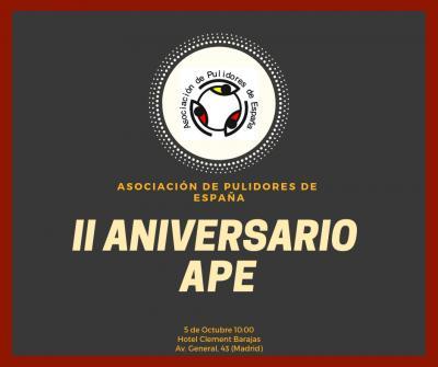 II ANIVERSARIO ASOCIACION PULIDORES ESPAÑA