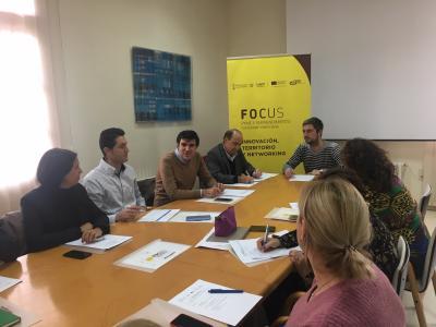 Comité organizador Focus Pyme y Emprendimiento Utiel - Requena