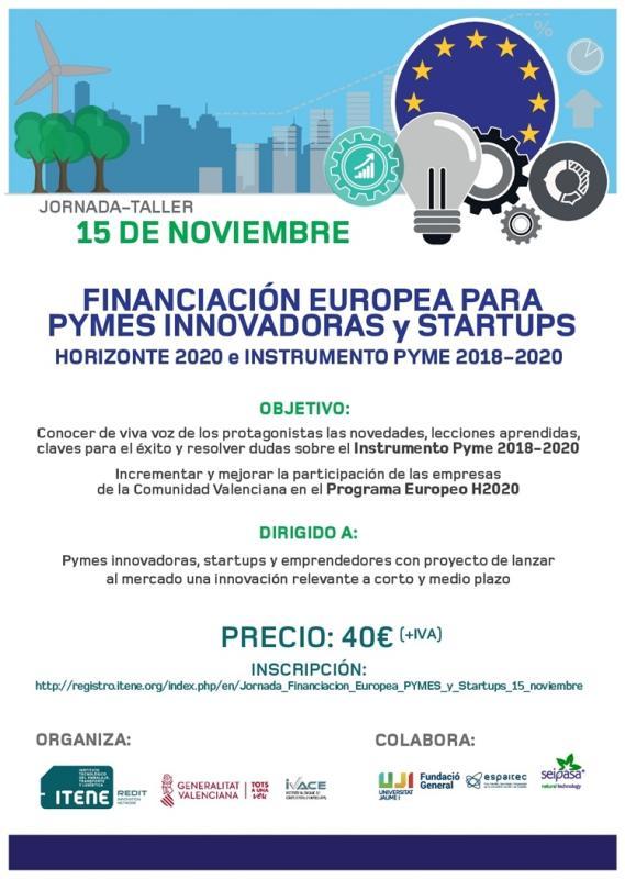 taller financiación europea castellon 15 noviembre