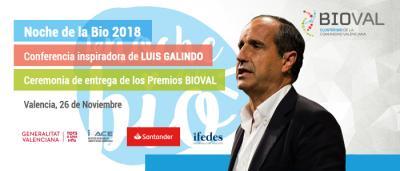 Noche de la BIO Valencia con Luis Galindo