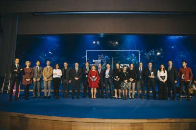 Gala Premio Joven Empresario de 2018