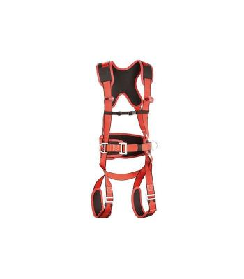 Arnés de seguridad, absorbedor y mosquetón (kit)
