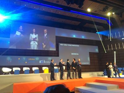 Bioinicia Premio Mejor Innovación en Etapa Temprana