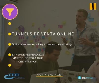 Curso Funnels Ventas Valencia febrero 2019
