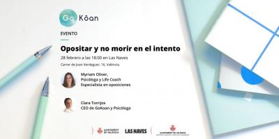 Evento: opositar y no morir en el intento.