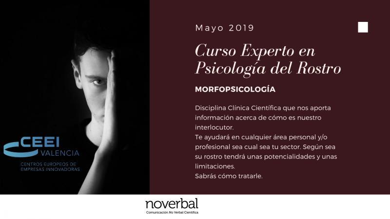 Curso Morfopsicología Valencia mayo y junio 2019