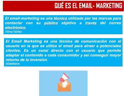 Ponencia resumen: Descubre las ventajas del email de Marketing para tu Empresa