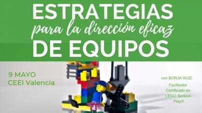 Curso dirección de equipos con Lego
