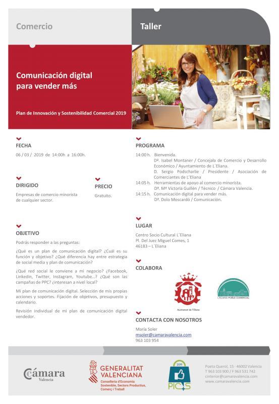 Taller comunicación digital para vender más