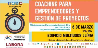 Coaching para emprendedores y gestión de proyectos