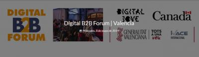 Programa del evento Digital B2B Forum Valencia