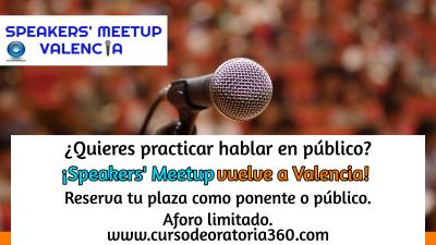 Speakers' Meetup - Encuentros de Oratoria Valencia