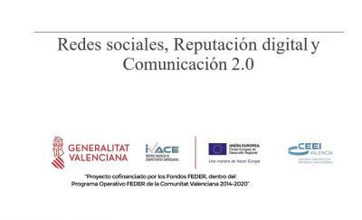 Ponencia Redes sociales, Reputación digital y Comunicación 2.0