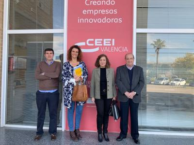 Reunión CEEI - Universitat de València