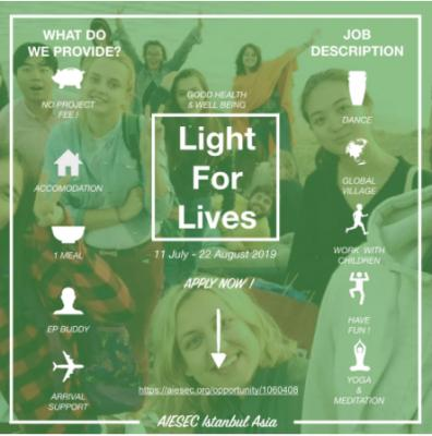 Light for lives