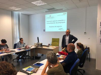 Inicia el curso Itinerario para la creación y consolidación de empresas 2019