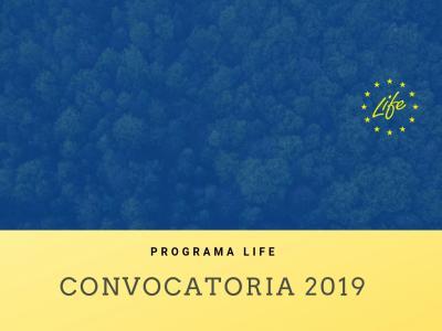 Convocatoria LIFE 2019