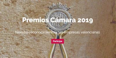 Cartel Premios Cámara Valencia 2019