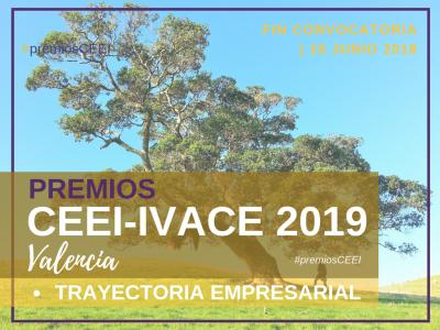 Premio Trayectoria Empresarial CEEI-IVACE 2019 Valencia