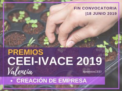 Premio Creación de Empresa CEEI-IVACE 2019 Valencia