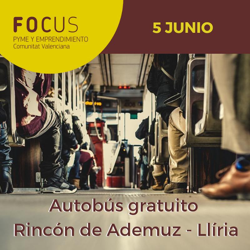 Autobús gratuito Rincón de Ademuz - Llíria