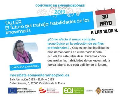 Taller knowmad Castellón