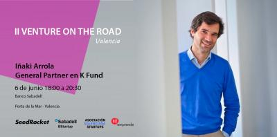 Cartel Venture on the Road Valencia Arrola