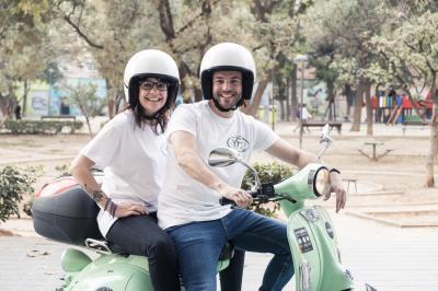 Roberta Lo Porto y Elio Martínez