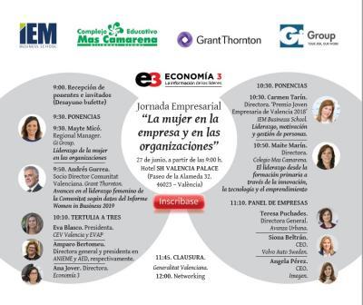 """Programa """"La mujer en la empresa y en las organizaciones"""""""