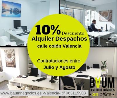 alquiler despachos valencia
