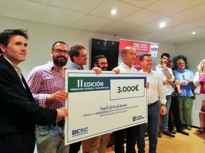 ADBioplastics se alza con el premio a mejor startup en el V Foro de inversión de ESIC