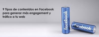 tipos de publicaciones para Facebook