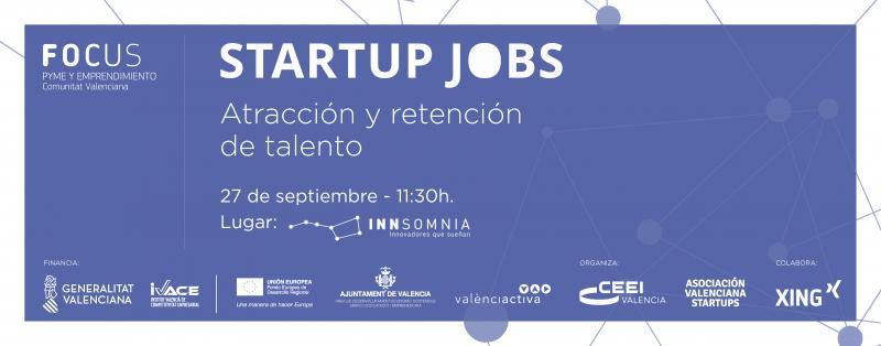 Startup Jobs. Atracción y retención de talento