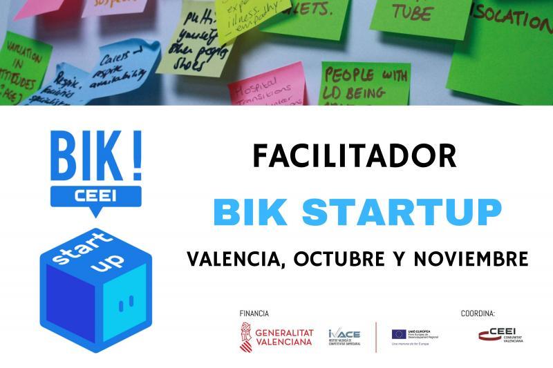 Falicitador BIK Startup Valencia