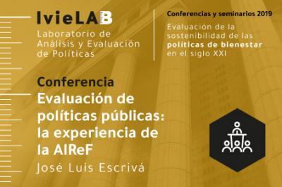 Conferencia de José Luis Escrivá