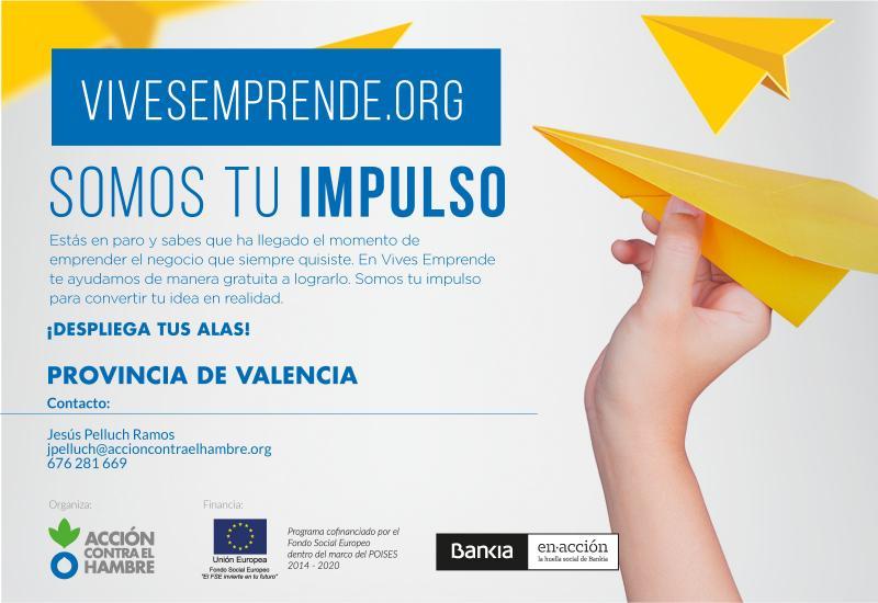 """Programa """"Vives Emprende"""" en Valencia para emprendedores / Curso Avanzado de SEO"""