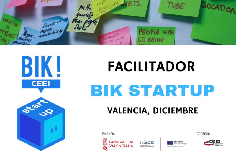 Facilitador Bik Startup Valencia