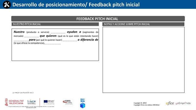 35 - Feedback Pitch Inicial