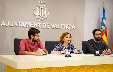 Pilar Bernabé presenta el València Startup Market 2019