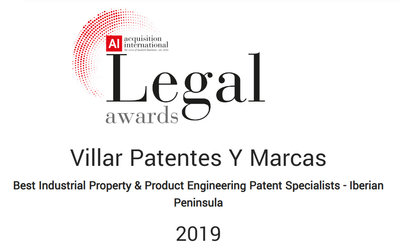 Acquisition internacional Legal awards