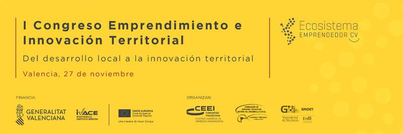 I Congreso Emprendimiento e Innovación Territorial CV