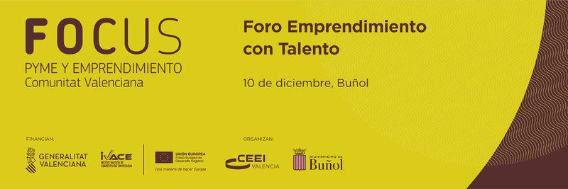 Foro Emprendimiento con Talento en Buñol