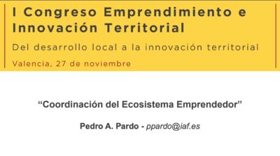 Coordinación y perfil de los agentes del ecosistema