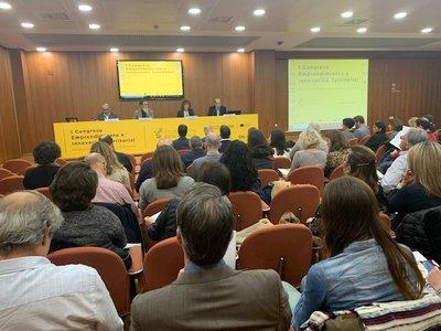 Apertura del I Congreso Emprendimiento e Innovación Territorial de la Comunitat Valenciana