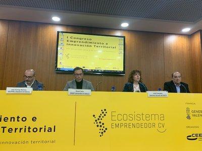 Inicio del I Congreso Emprendimiento e Innovación Territorial de la Comunitat Valenciana