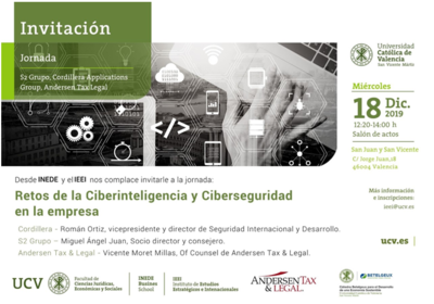 Ciberinteligencia y ciberseguridad en la empresa