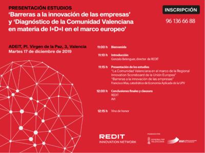 Barreras a la innovación y Diagnóstico del I+D+i en la Comunidad Valenciana