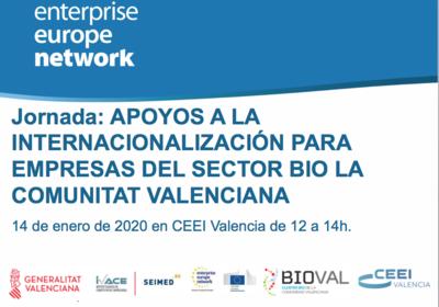 Jornada apoyos a la Internacionalización para Empresas del Sector BIO