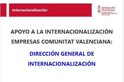 Ponencia: Apoyos a la Internacionalización para Empresas IVACE Internacional